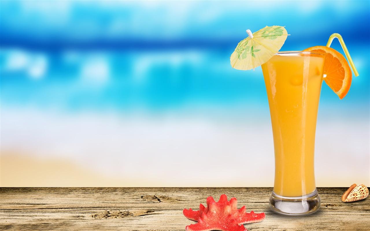 Orange Juice Wallpaper