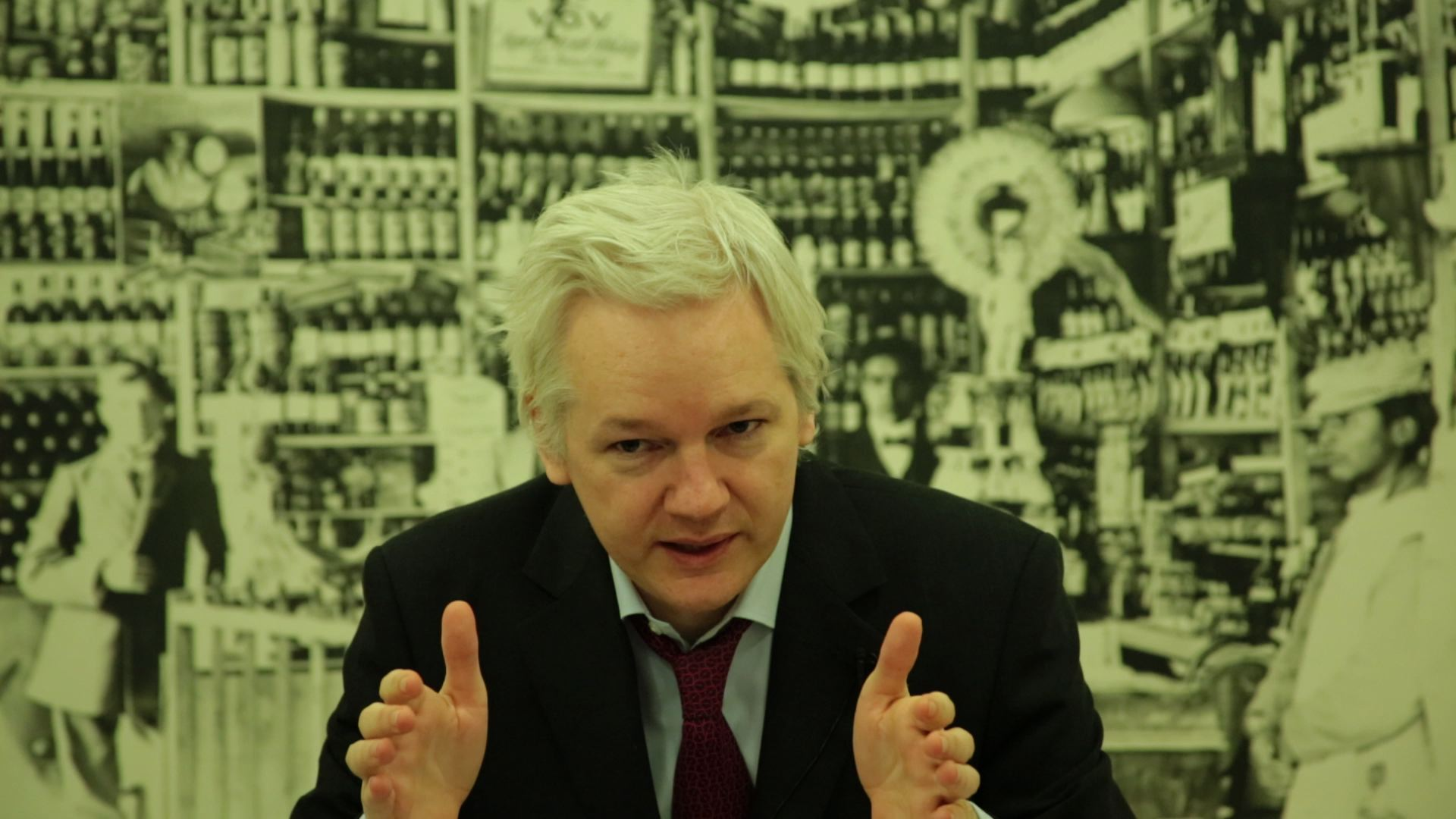 Julian Assange speaks to EU Parliament