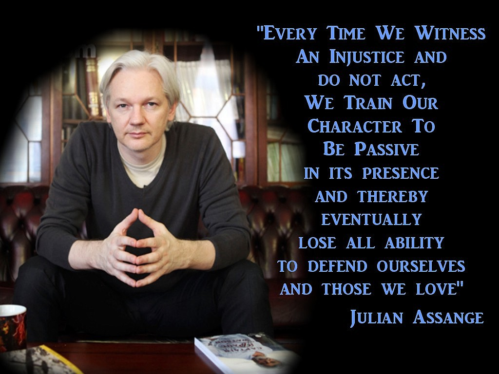 Injustice1 - julian-assange Wallpaper