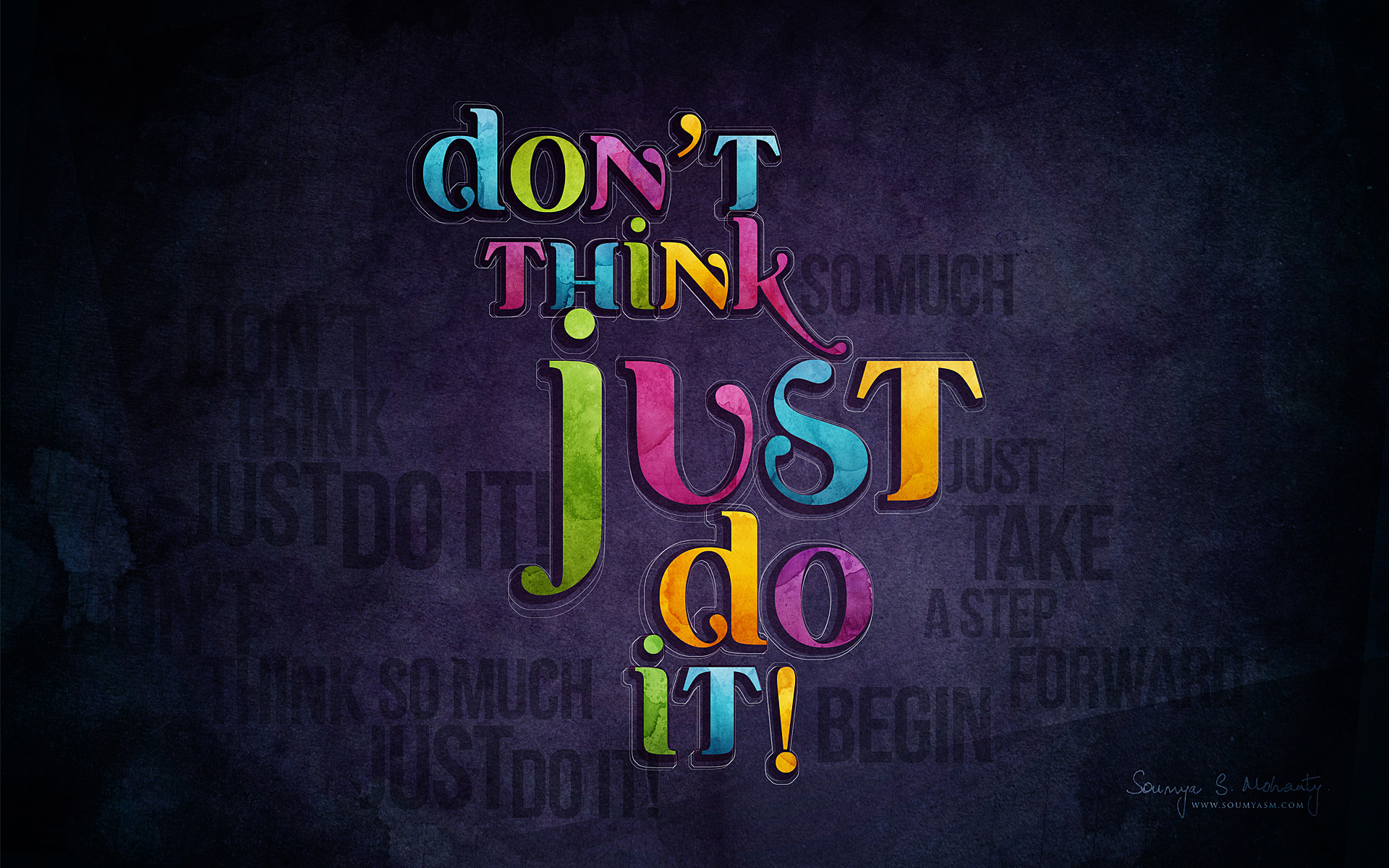 Just Do It Wallpaper  1920x1200 69375