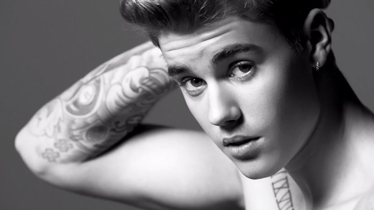 Justin Bieber + Lara Stone - Calvin Klein Jeans Spring 2015