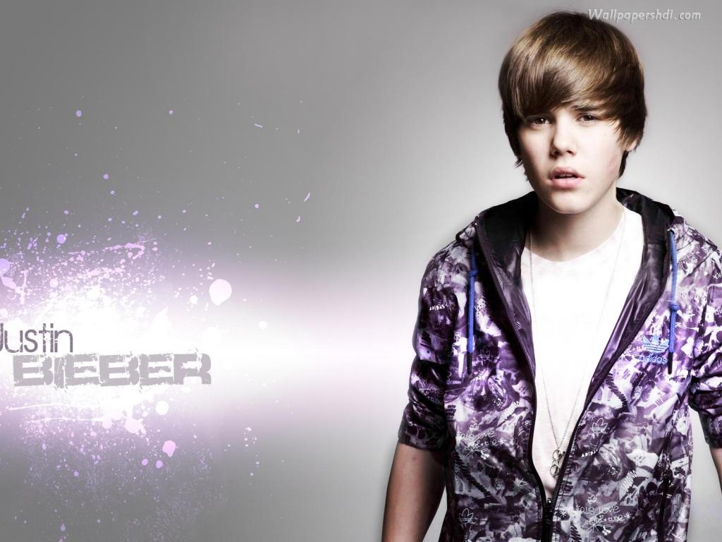 Justin Bieber Widescreen Desktop Wallpaper