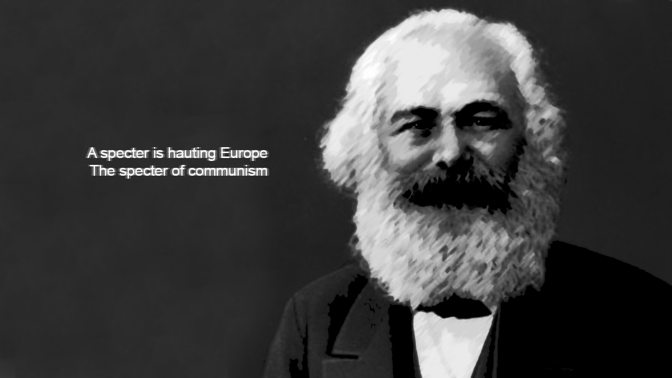 Karl Marx Quotes HD Wallpaper 3