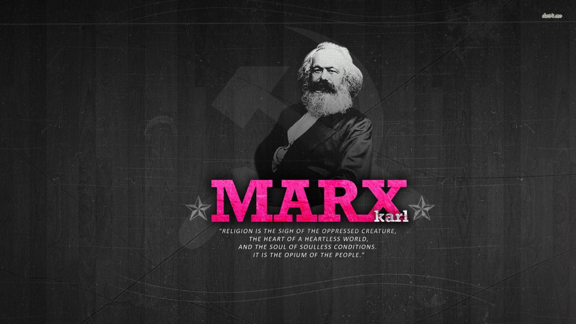 ... Karl Marx about religion wallpaper 1920x1080 ...