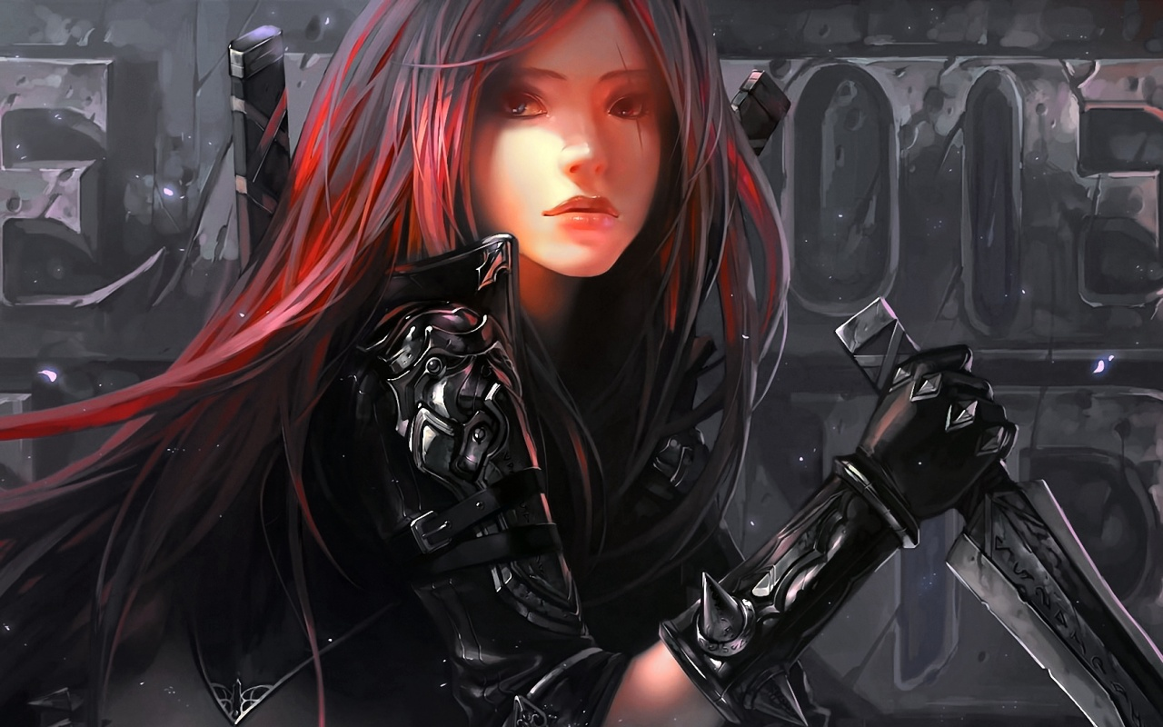 Katarina artwork league of legends