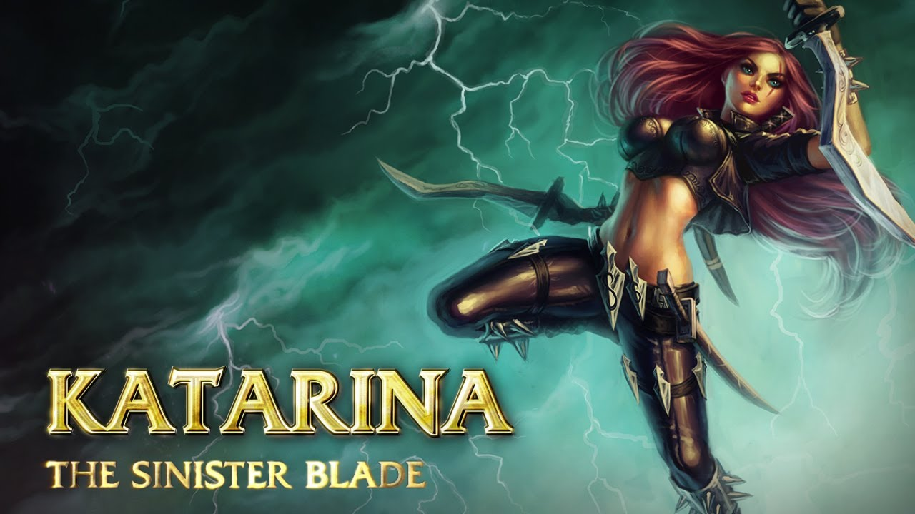 Katarina Champion Spotlight. League of Legends