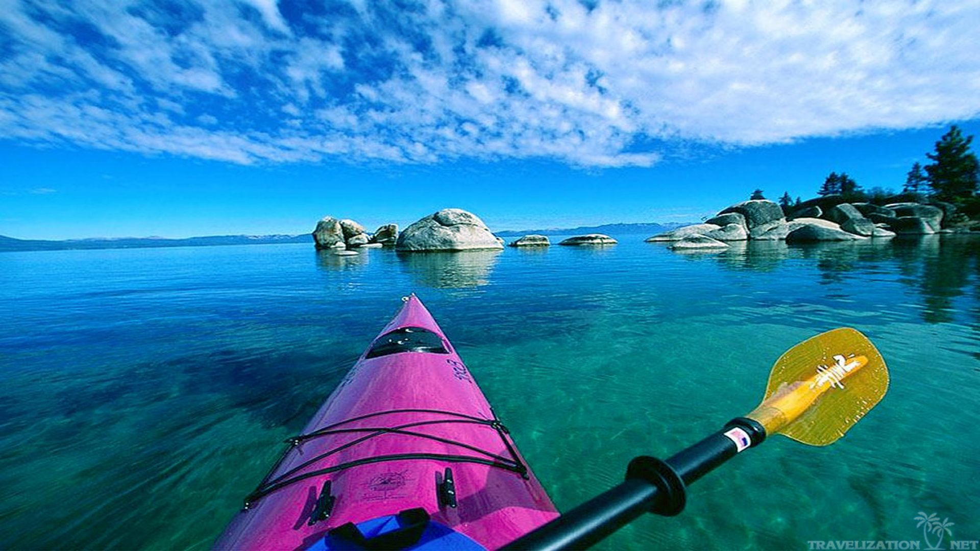 Kayak Wallpaper