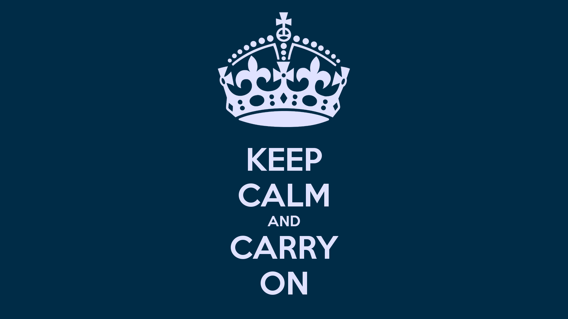 "Download the following Keep Calm and Carry On 7363 by clicking the orange button positioned underneath the ""Download Wallpaper"" section."