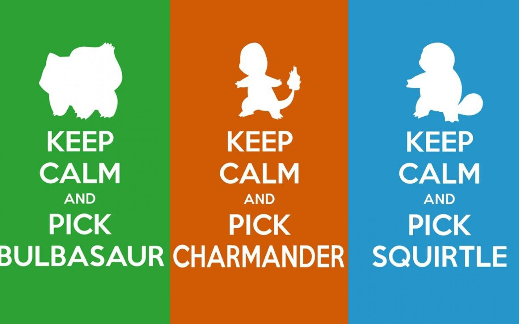 Keep Calm Green Pokemon Bulbasaur