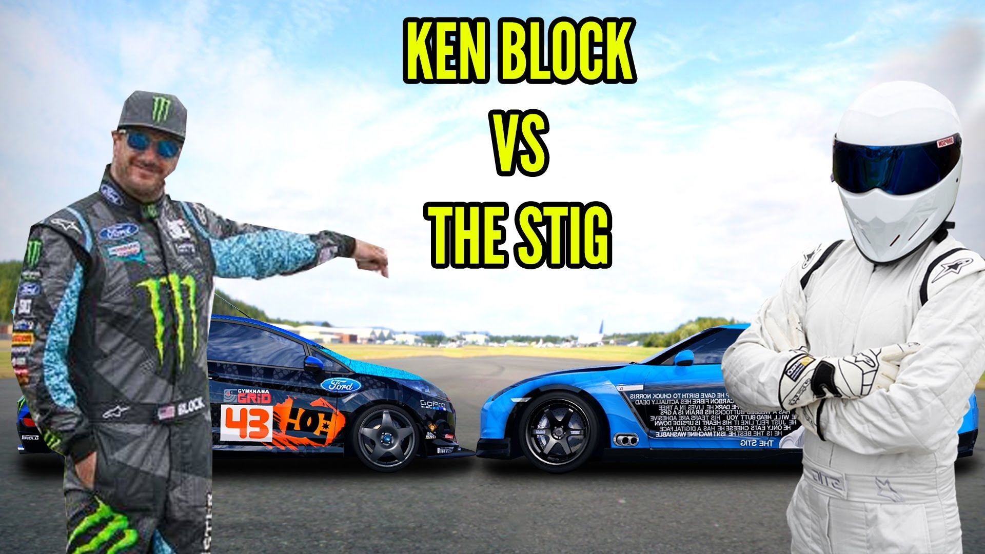 Ken Block VS The Stig - ULTIMATE SHOWDOWN