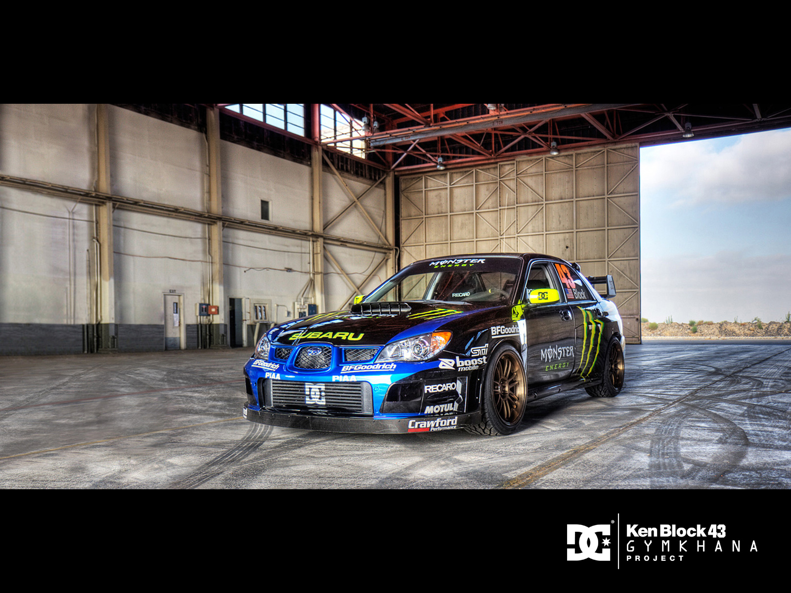 Ken Block Gymkhana Project,