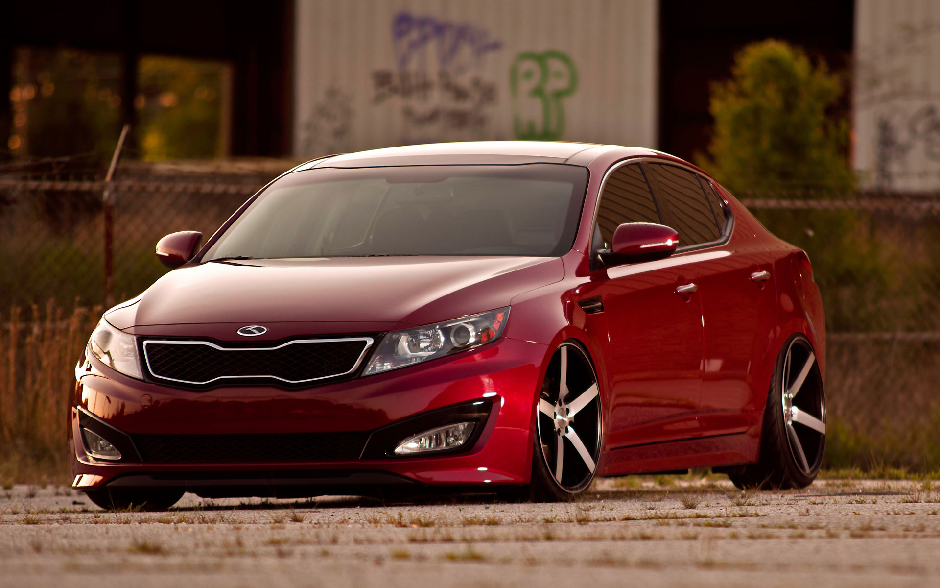 Kia optima modified
