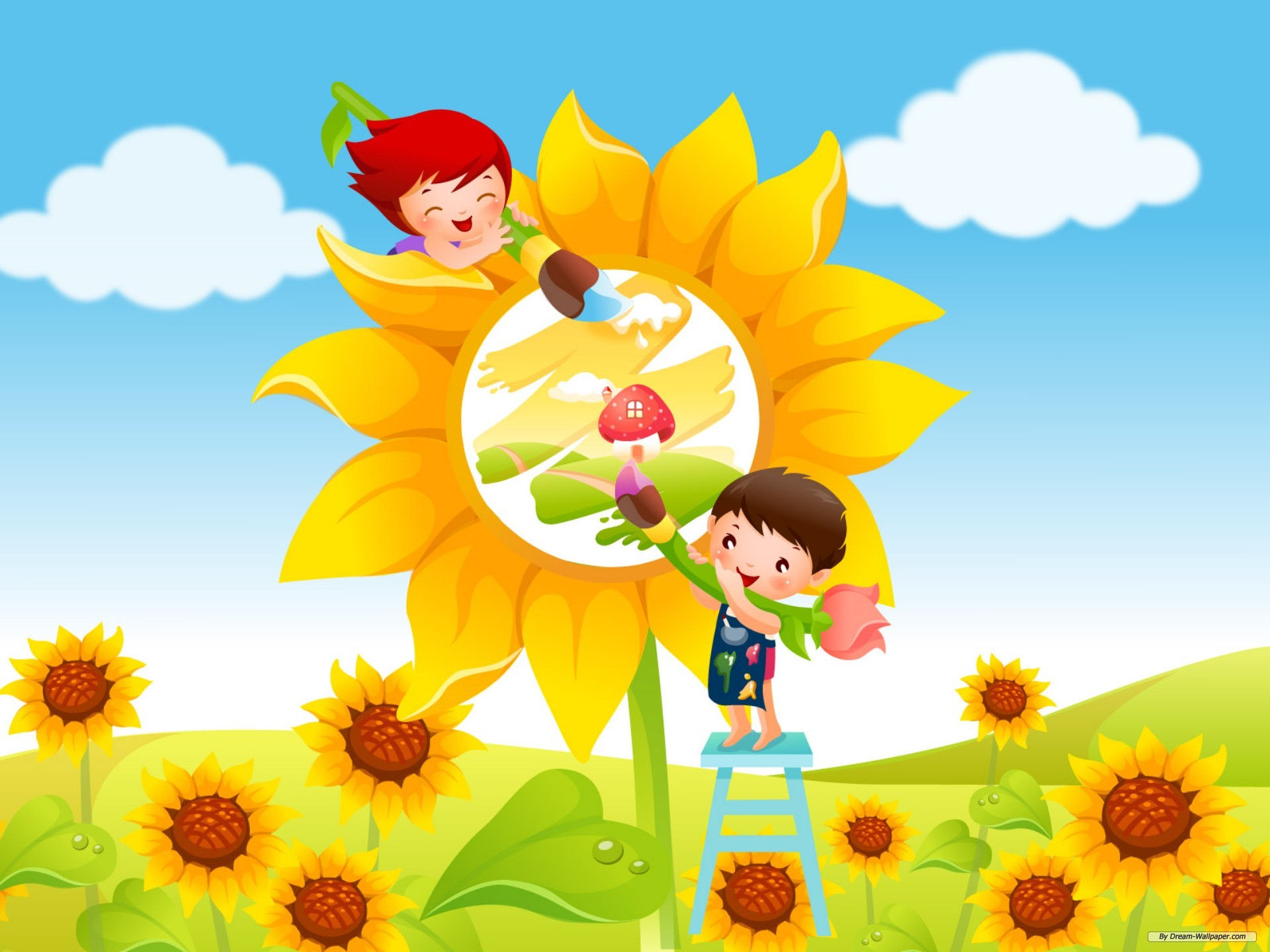 Kids Wallpaper 9050