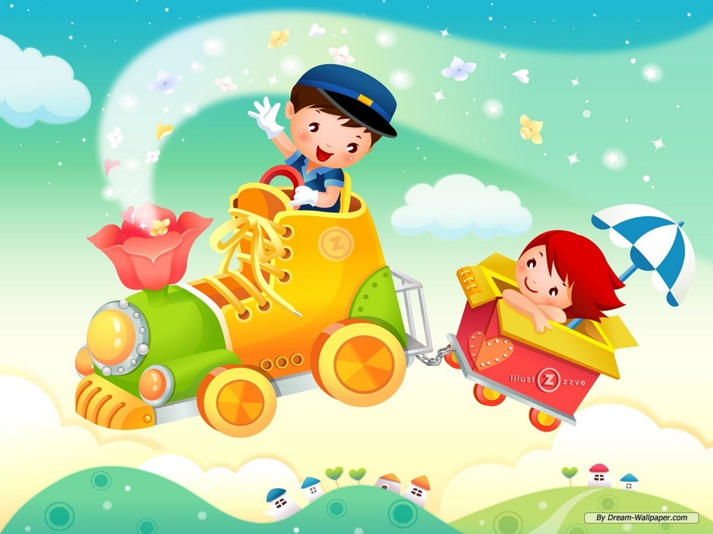 wallpaper for kids HD for desktop and poster design