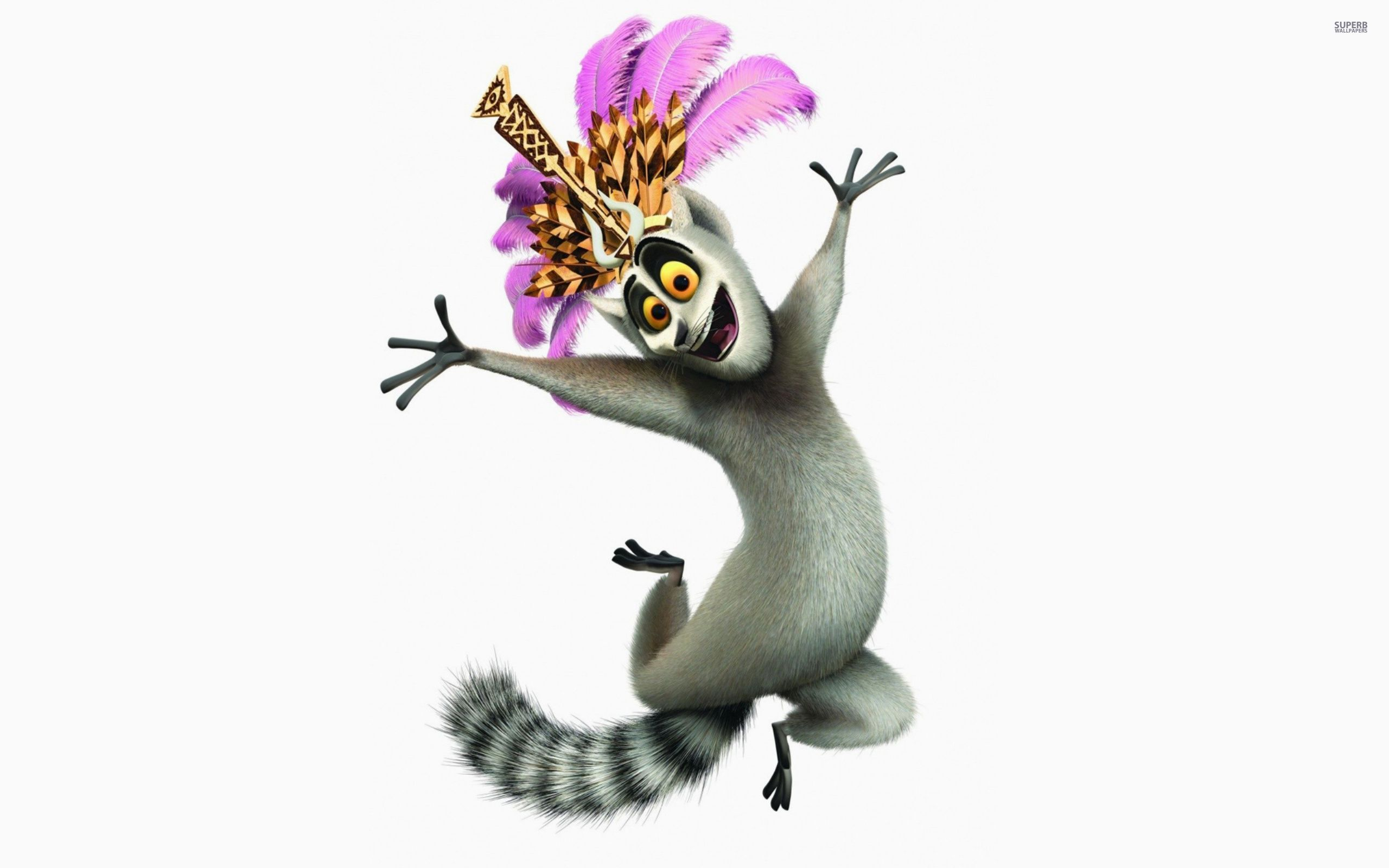 Download King Julien - Madagascar wallpaper