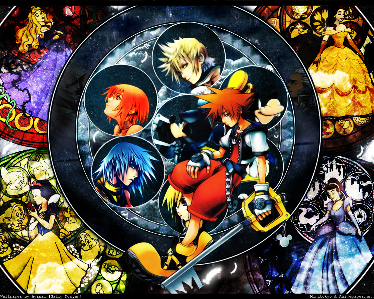 HD Wallpaper | Background ID:35303. 1280x1024 Video Game Kingdom Hearts
