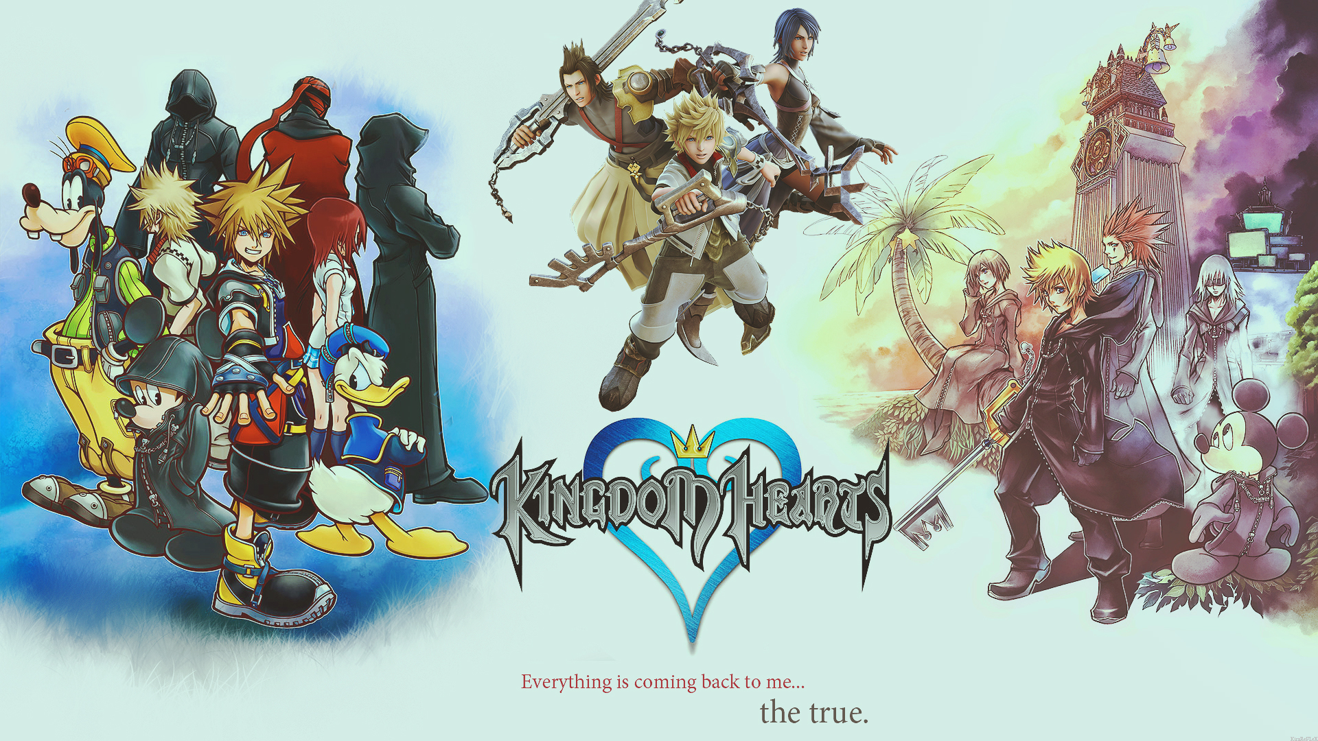 Kingdom Hearts 358 2 Days Cover 1920x1080