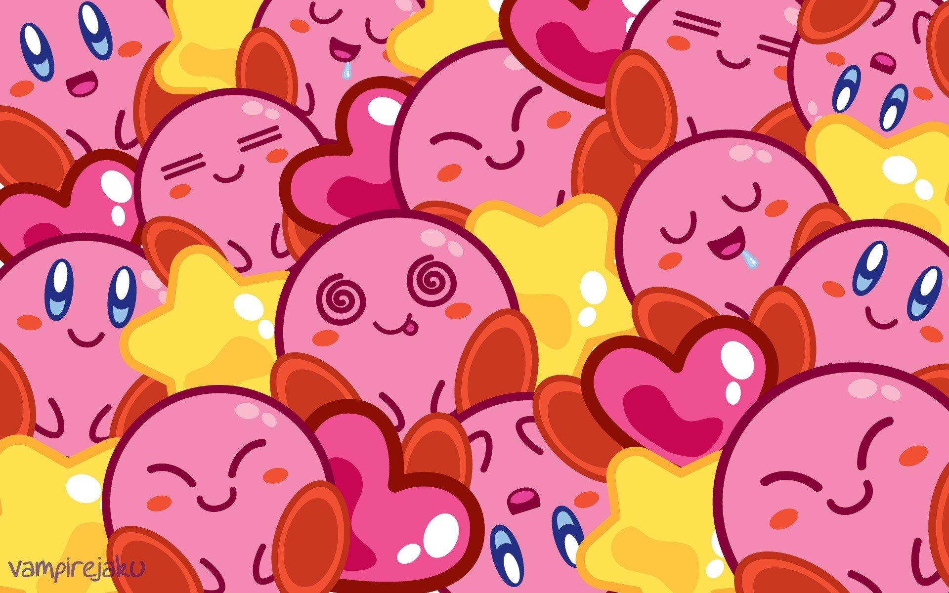 Kirby Wallpaper 1366x768: Nintendo Kirby Wallpaper Wallpaperup 1920x1200px