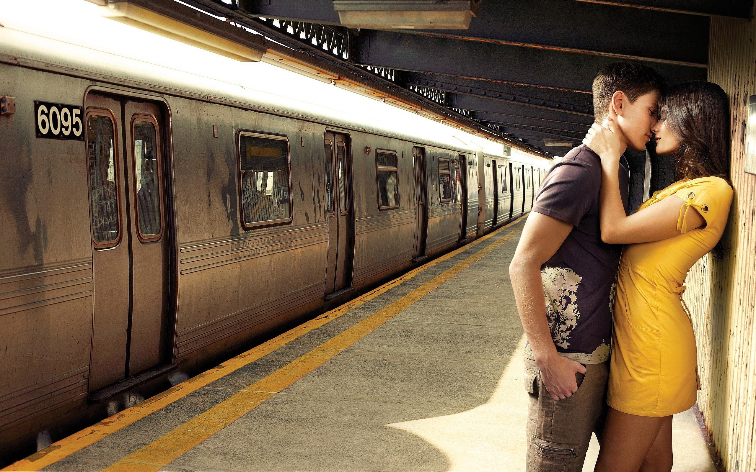 Kiss Train Station
