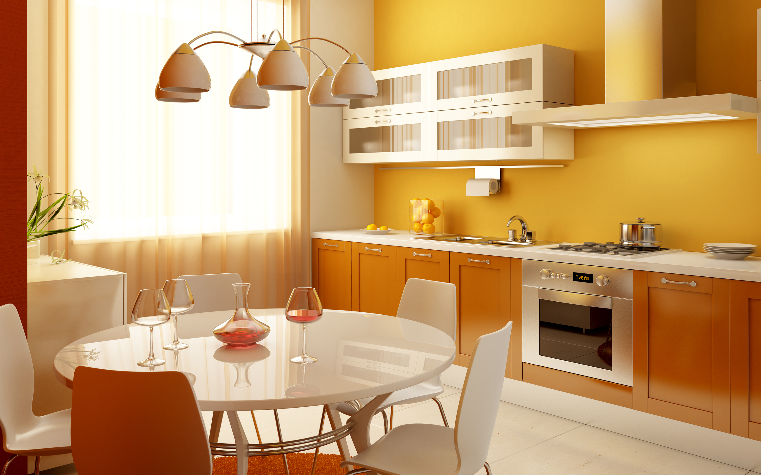 Coloring Kitchen Ideas HD Wallpaper