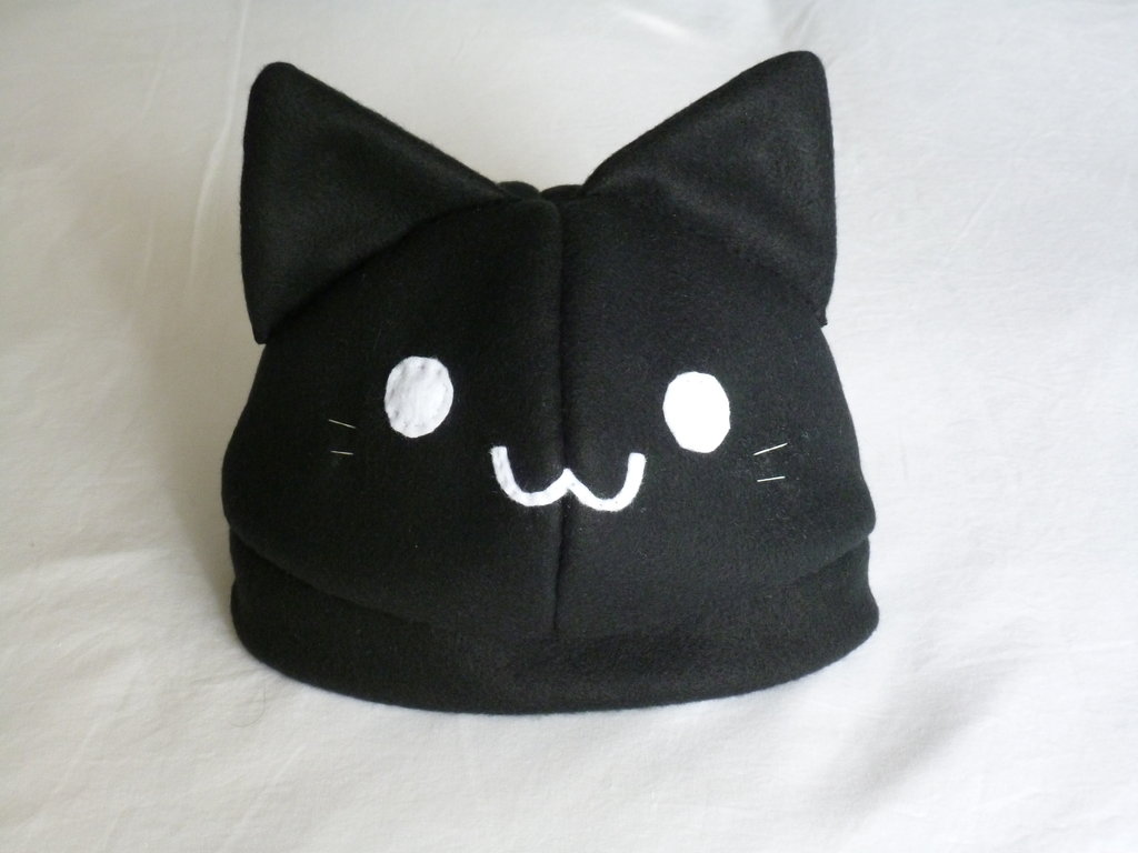 Black Kitty Hat by bluupanda ...