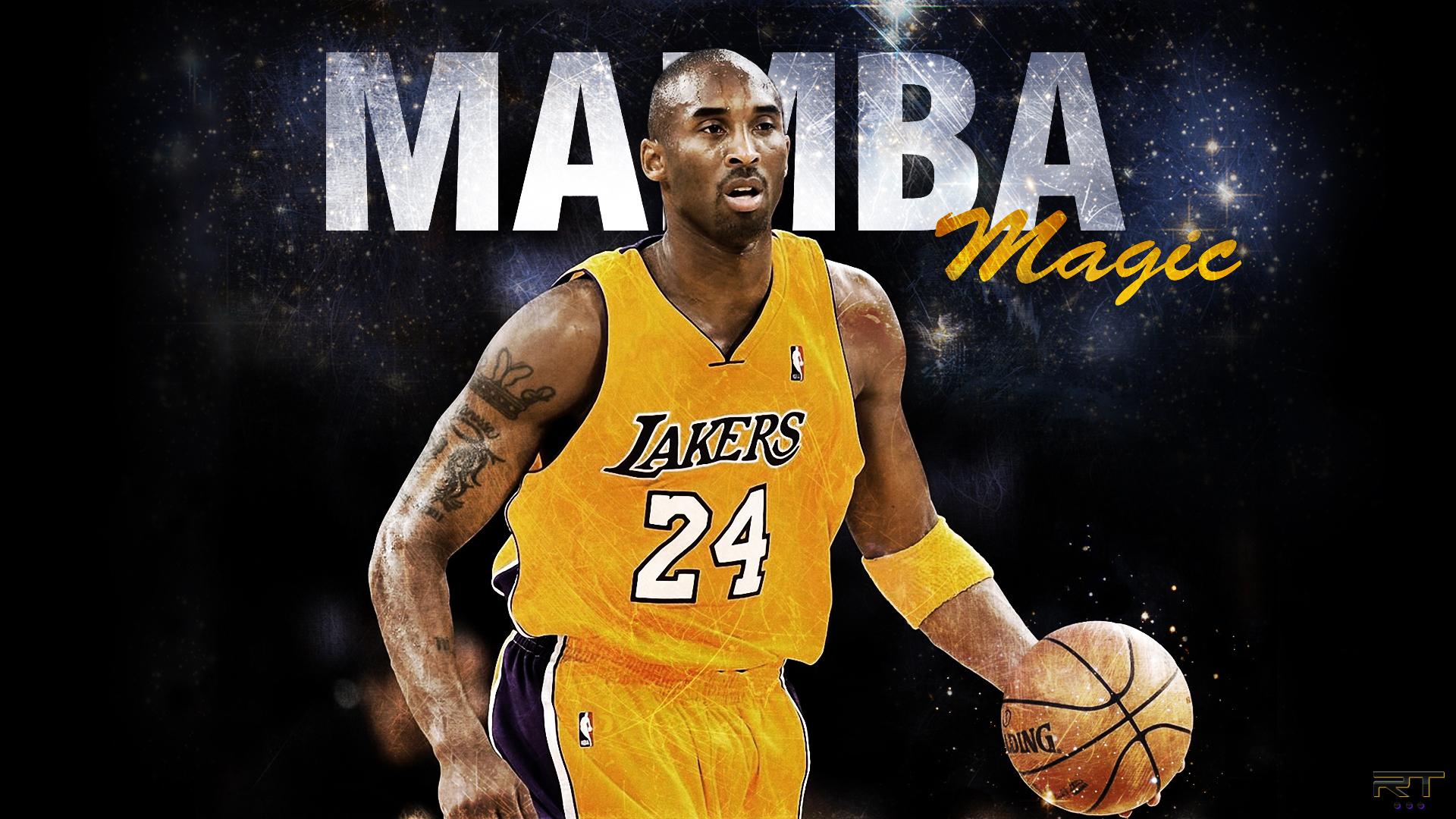 Mamba Magic Kobe Bryant Wallpaper