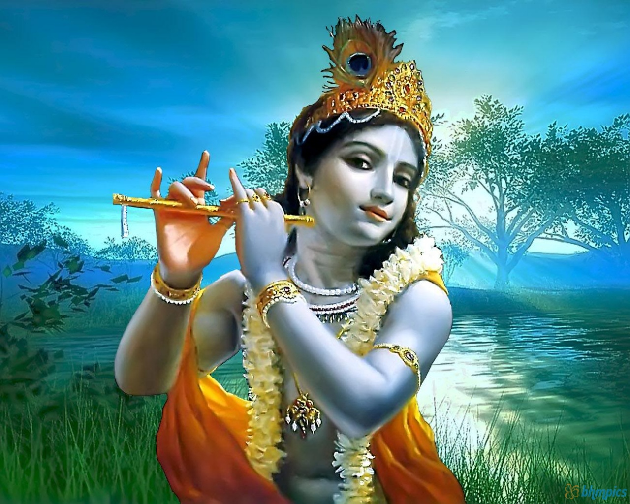 Download this gallery to your personal computer or the web-media device. Do not forget to view different Krishna images galleries.