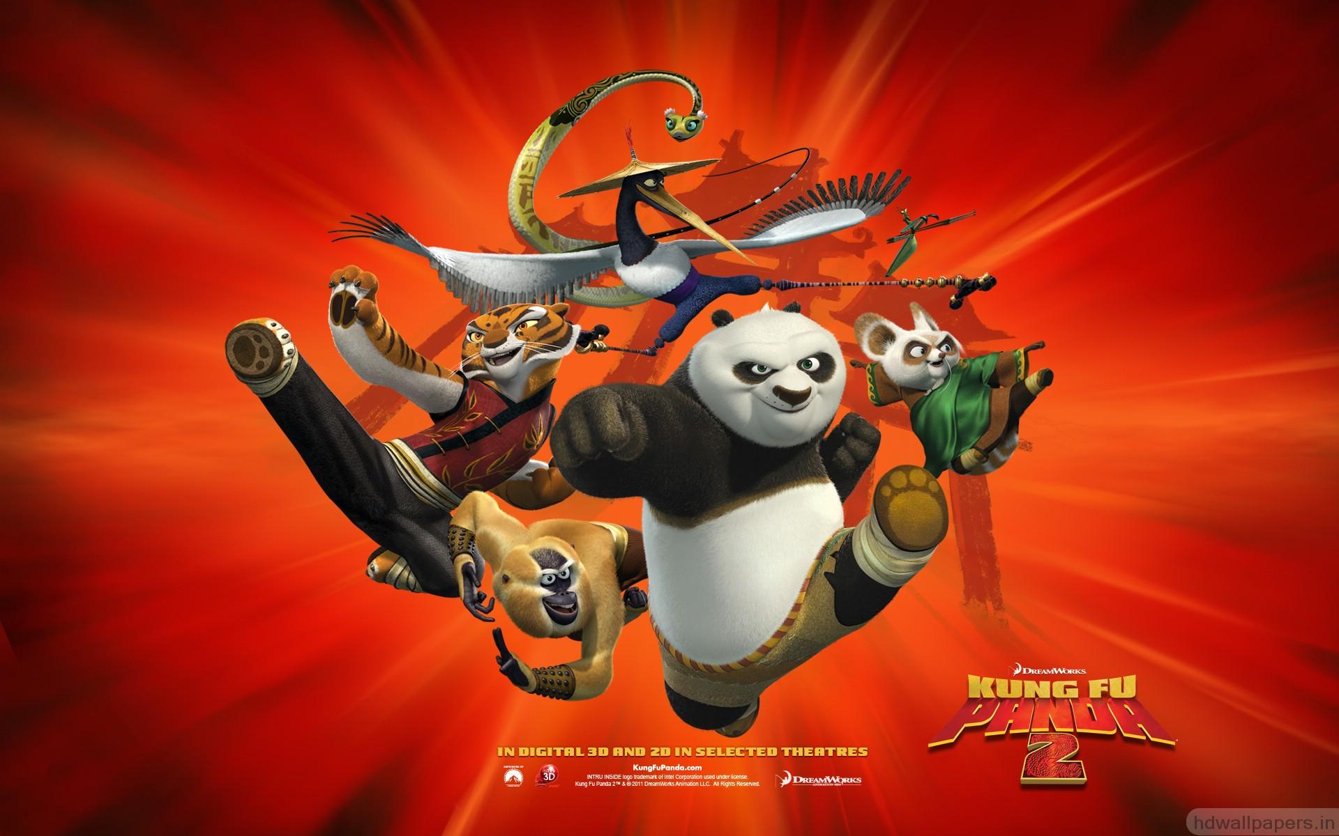 Kung Fu Panda 2 Logo Wallpaper