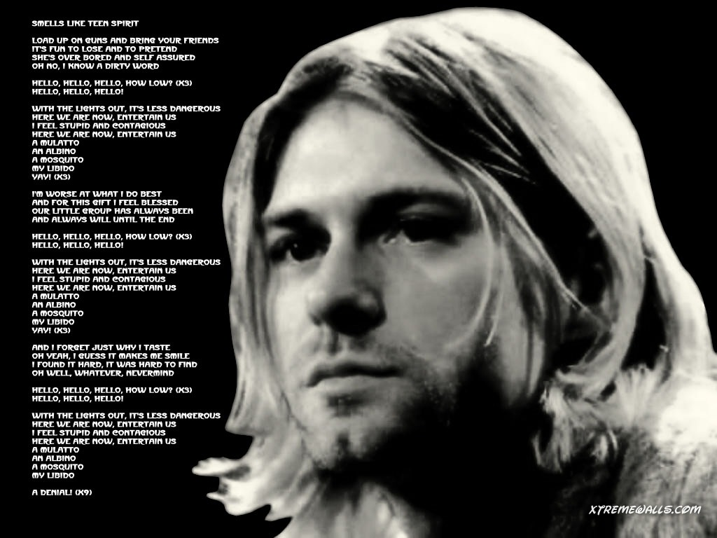 Kurt Cobain Wallpaper 1024x768 50115