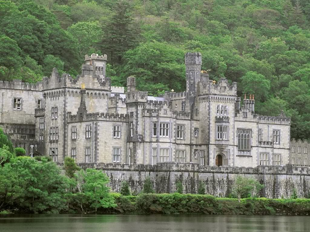 Kylemore abbey castle