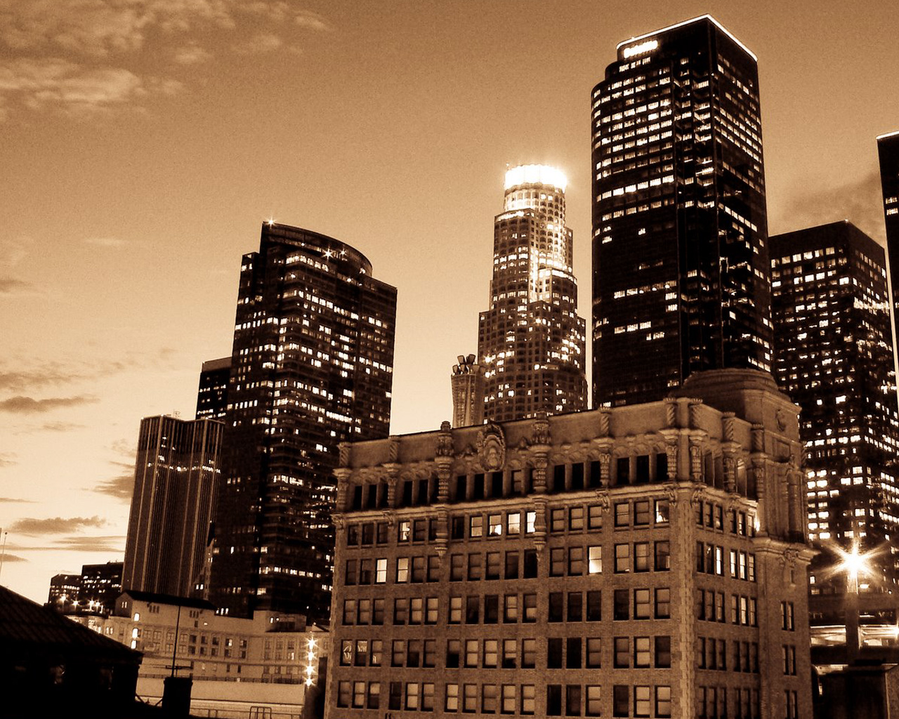LA Skyline Pictures