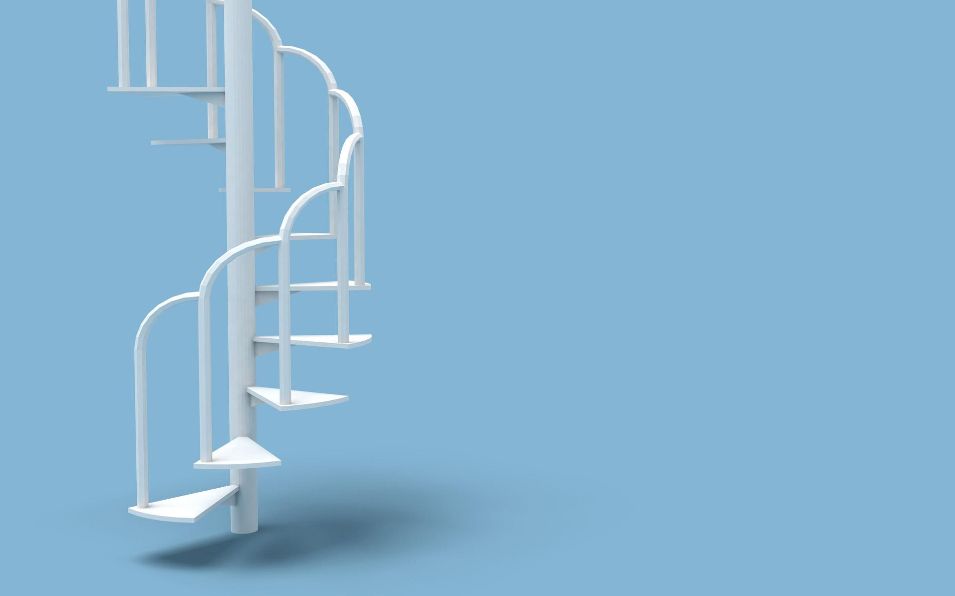 original wallpaper download: White Ladder - 1920x1200