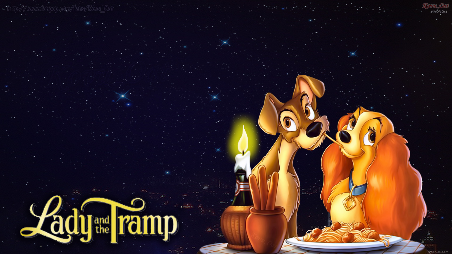 Lady And The Tramp widescreen for desktop