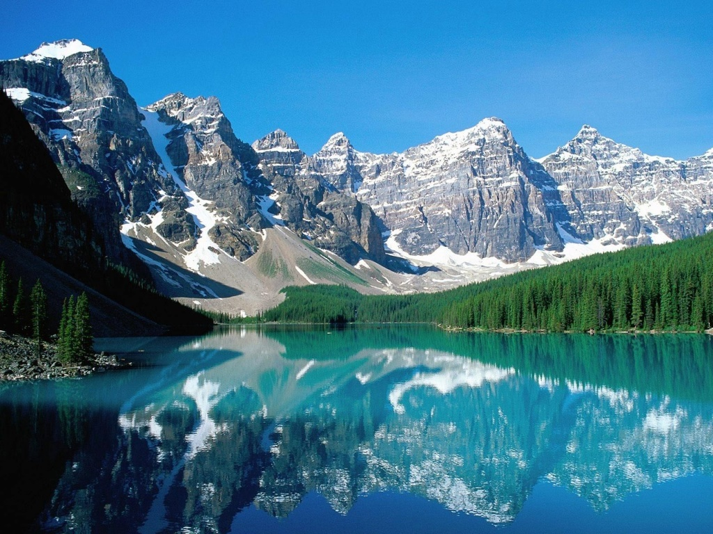 Another view of Moraine Lake, Alberta