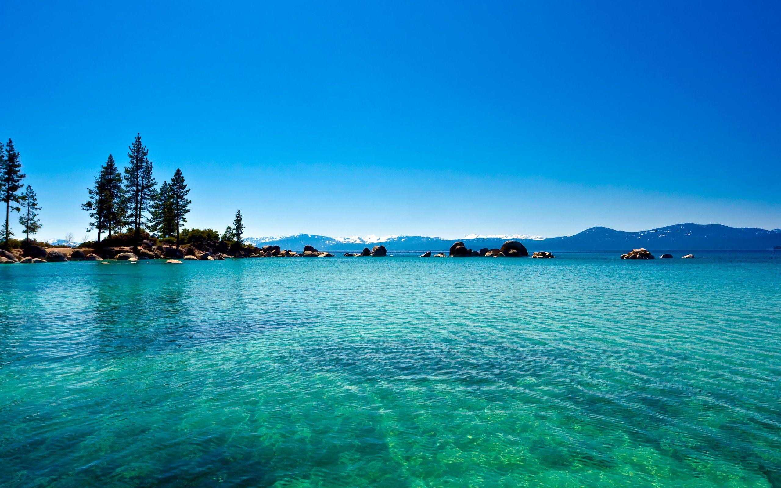 Tahoe lake