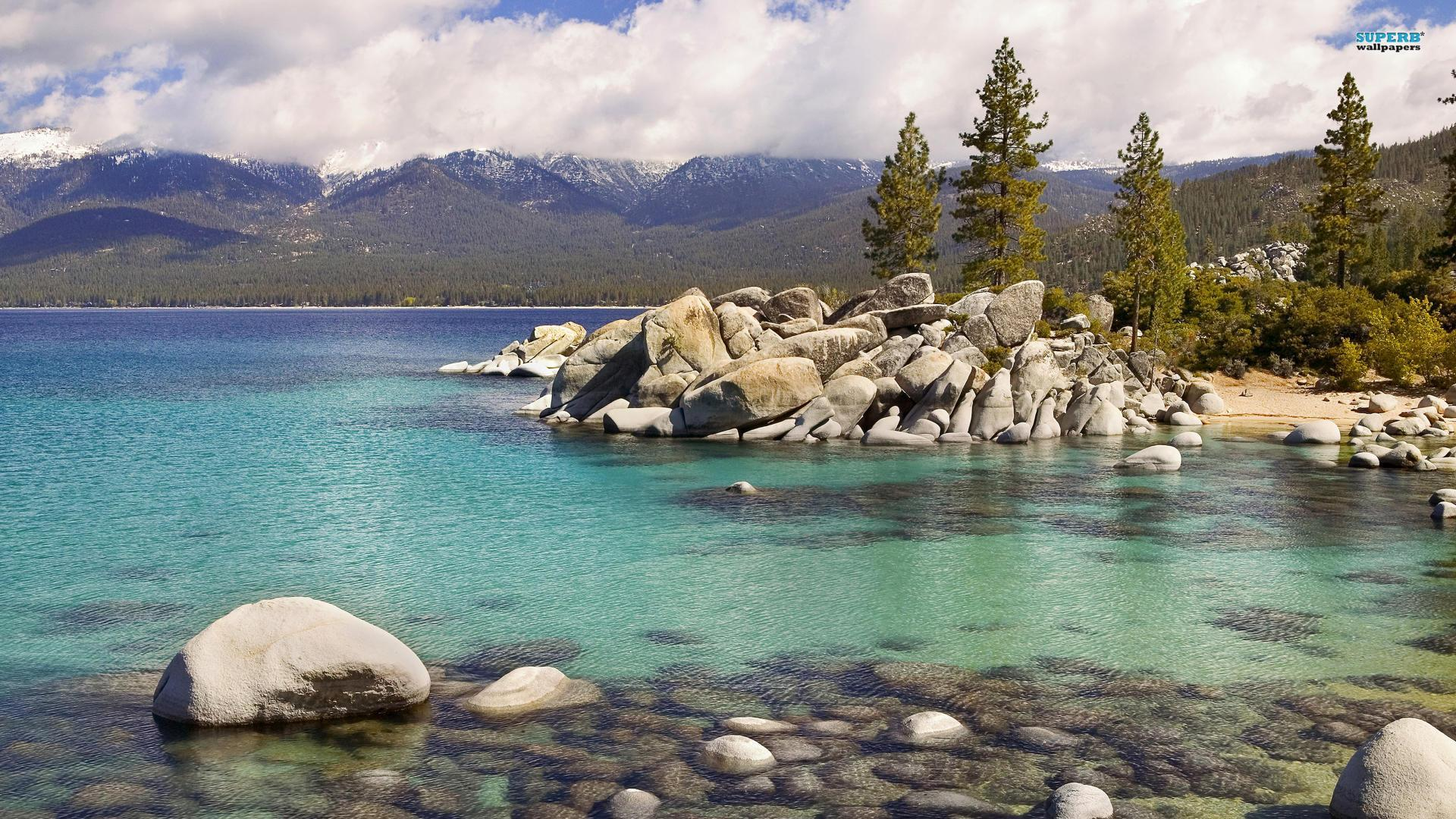 Lake Tahoe wallpaper 1920x1080
