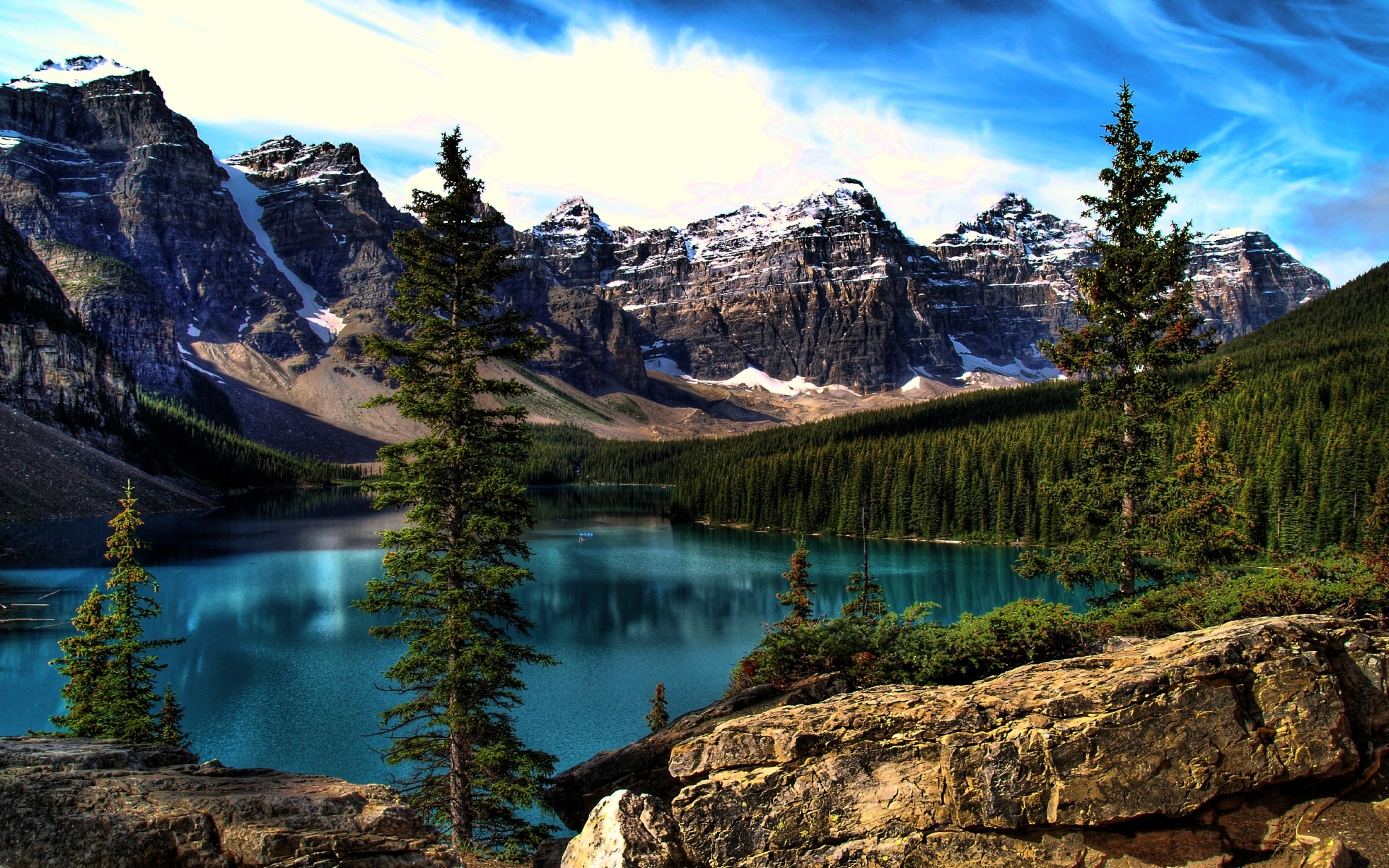 Moraine Lake HD Wallpapers