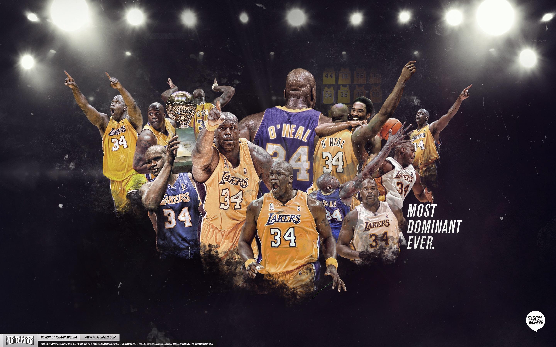 Shaq Los Angeles Lakers Wallpaper
