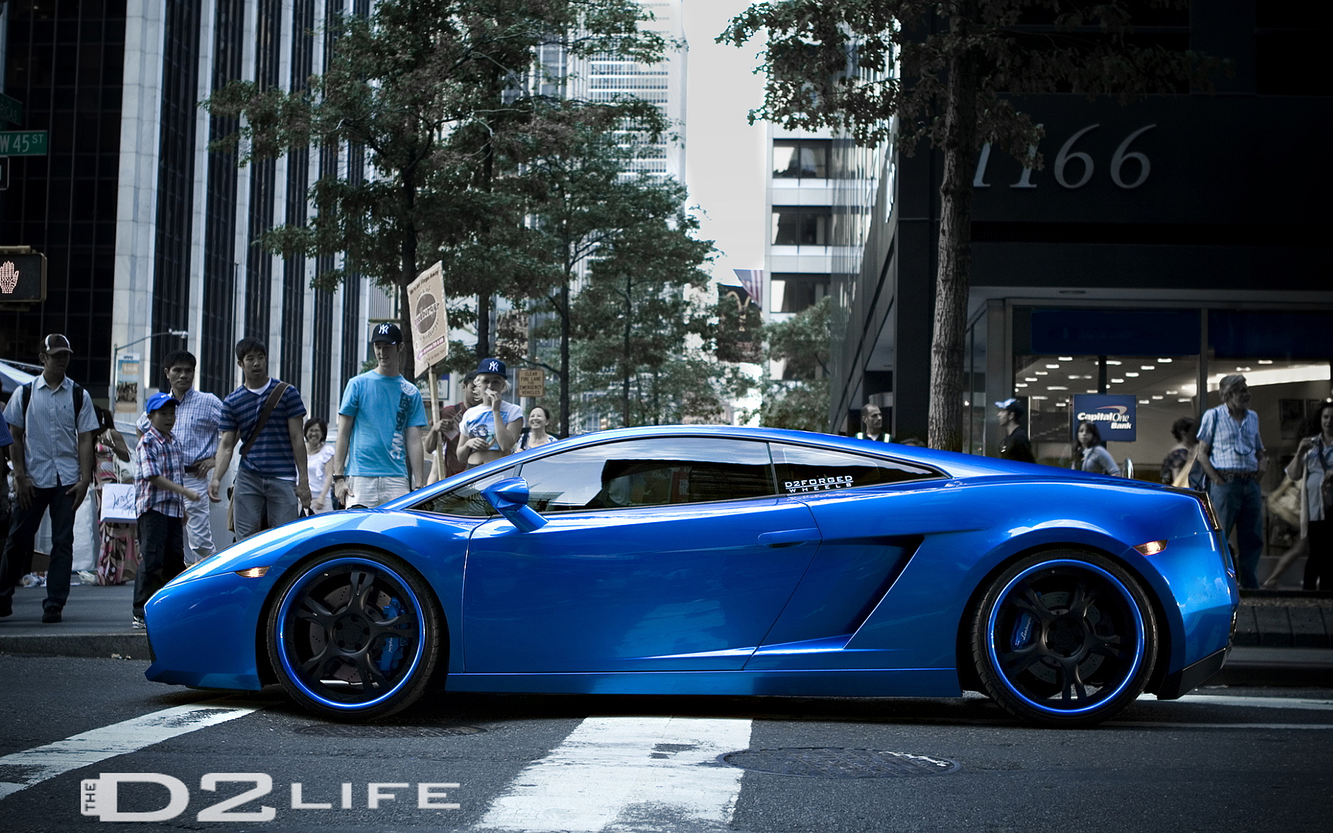Lambo gallardo forged rims