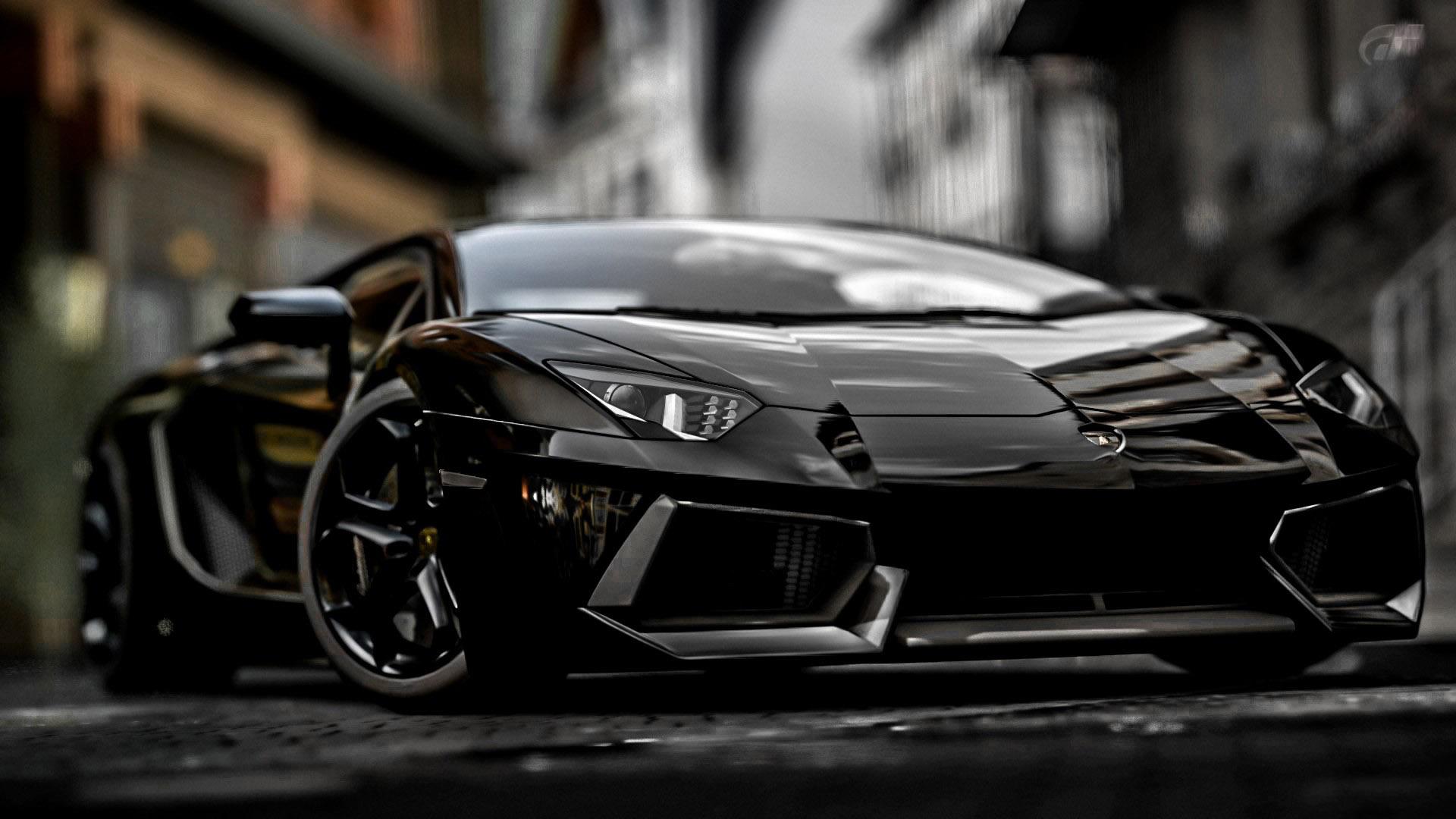 Black Lamborghini Aventador 28426