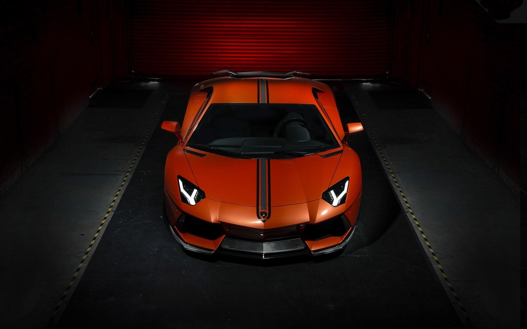 Lamborghini Aventador LP 700-4 Vorsteiner Tuning Car Front
