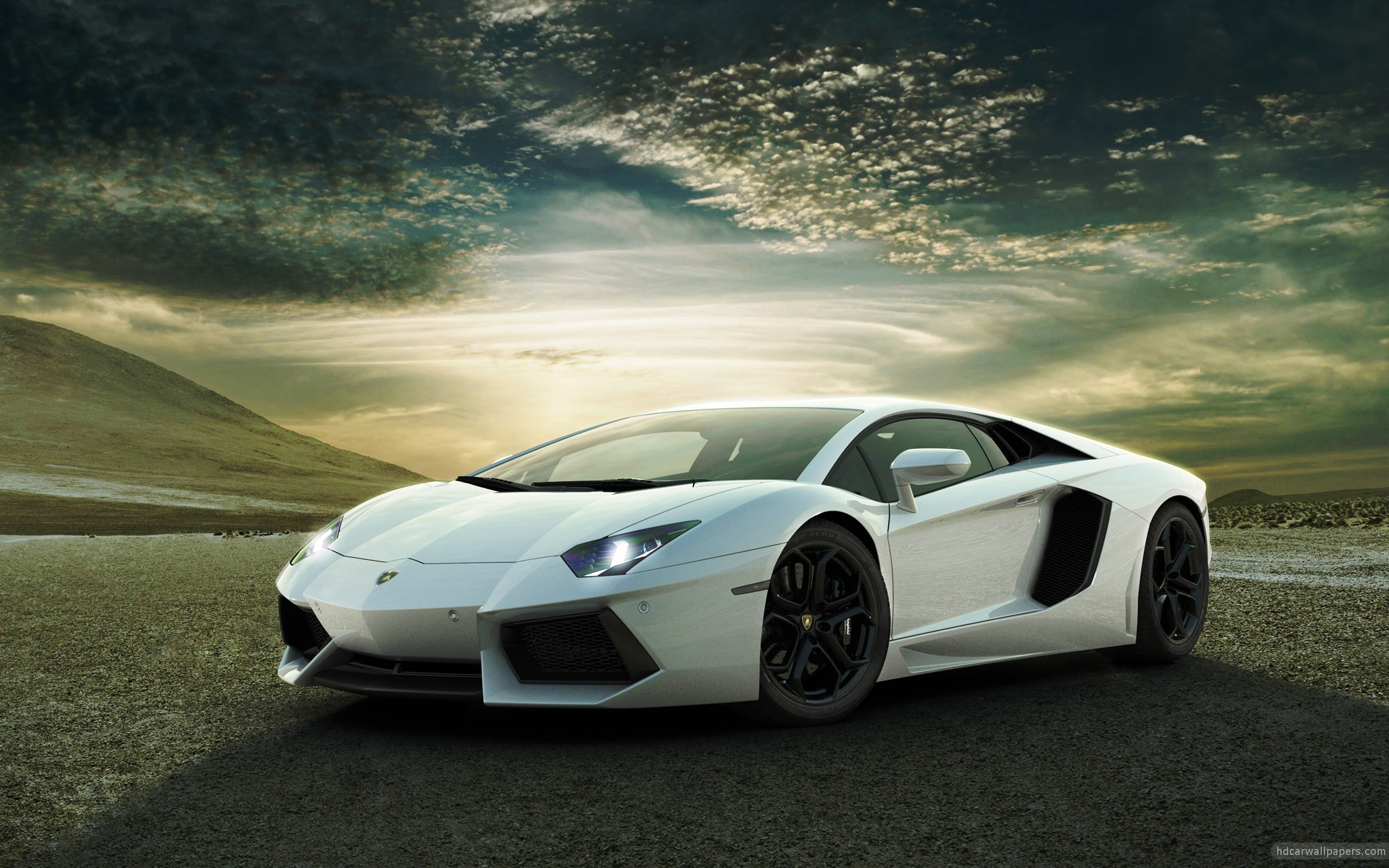 Lamborghini Aventador High Resolution