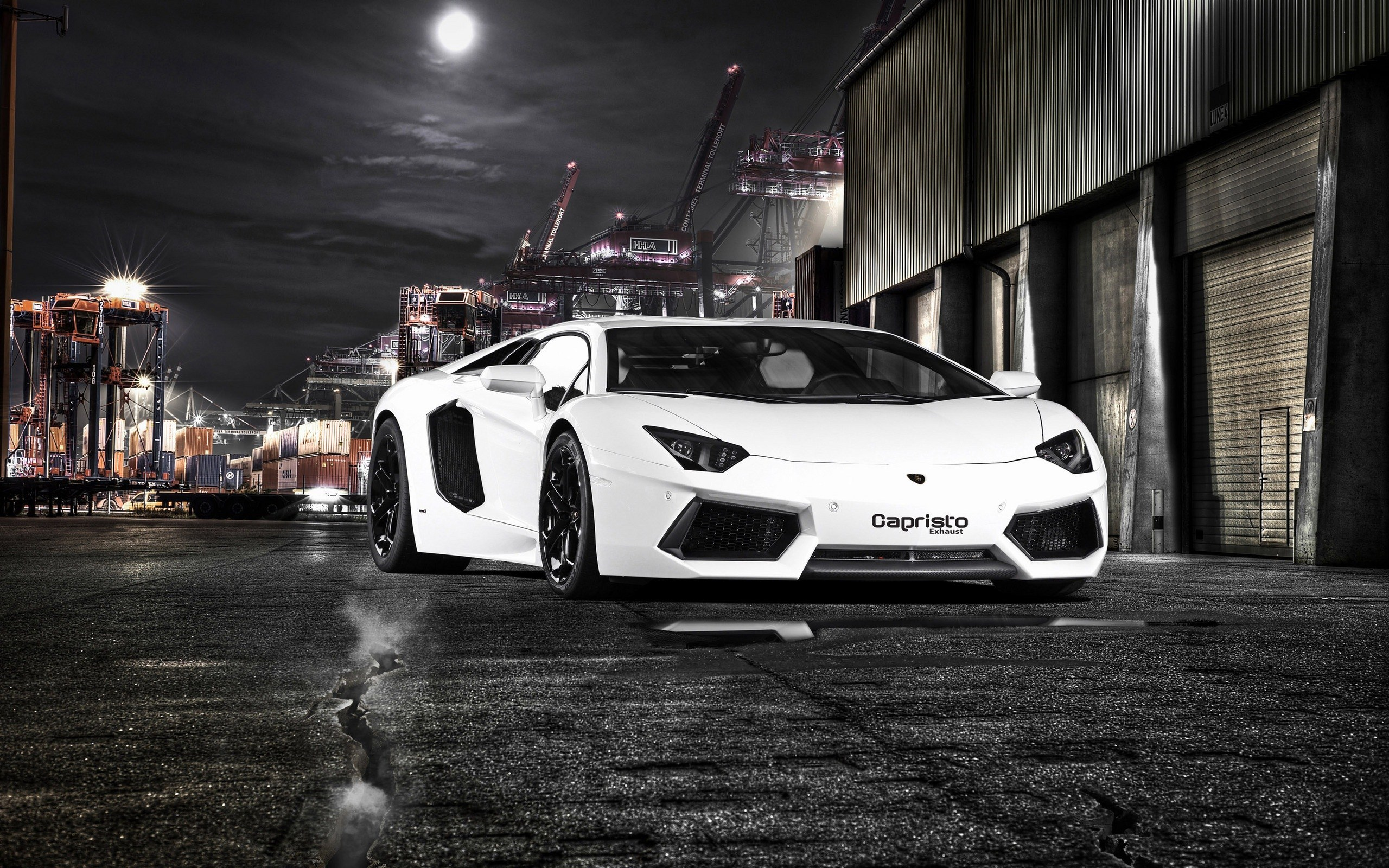 Lamborghini Aventador LP700-4 Port Warehouse