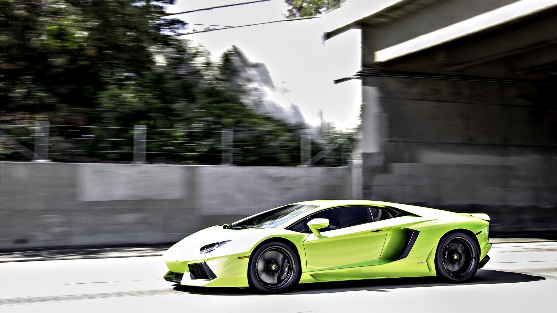 Lamborghini Aventador LP700-4 Speed HD Wallpaper