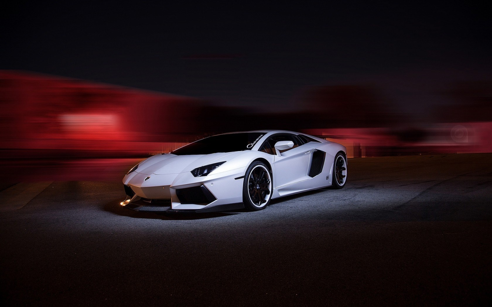 Lamborghini Aventador LP700-4 Tuning Light Blur