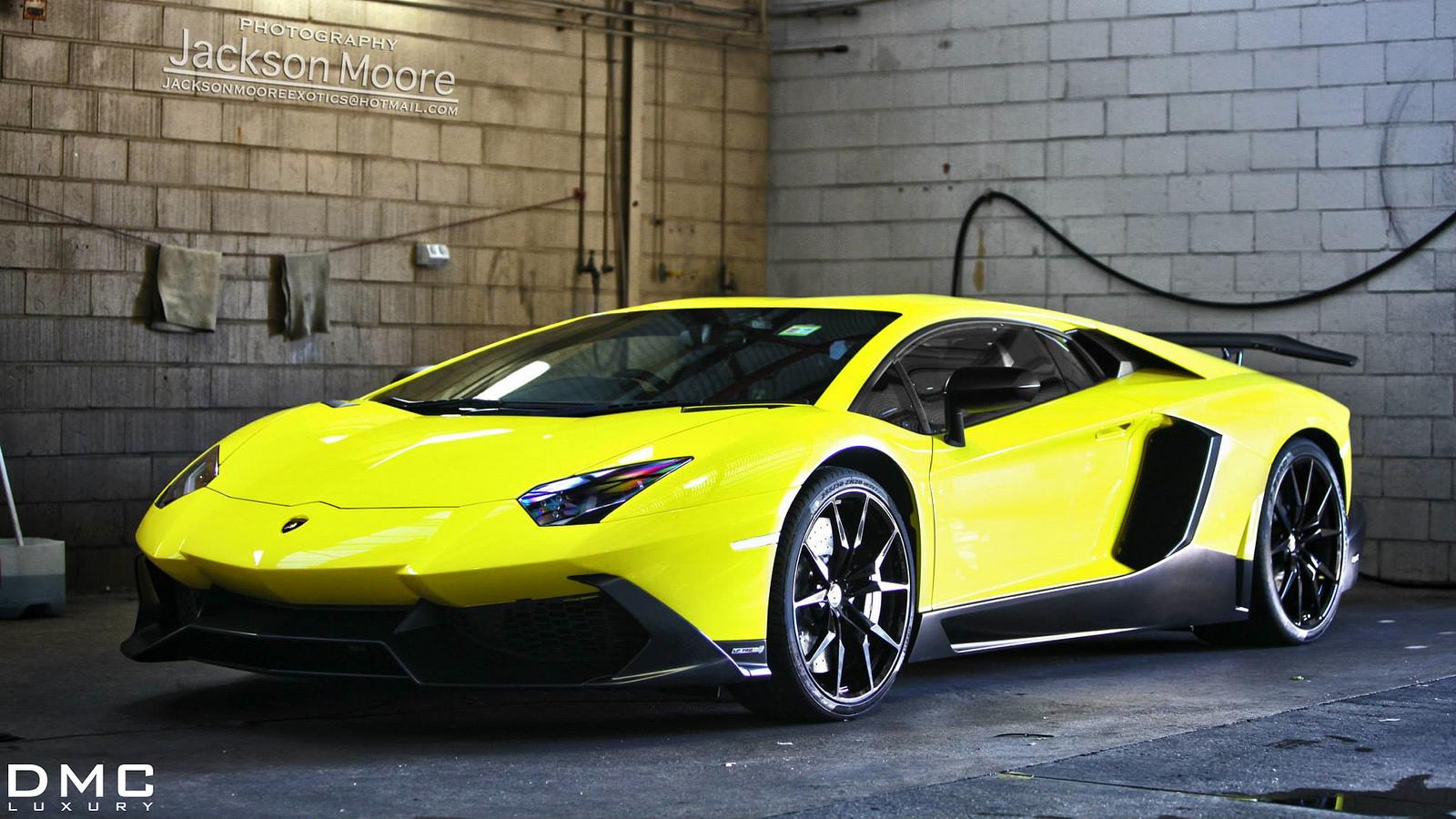 Lamborghini Aventador LP720-4 50 Anniversario with DMC Rear Wing - photo gallery