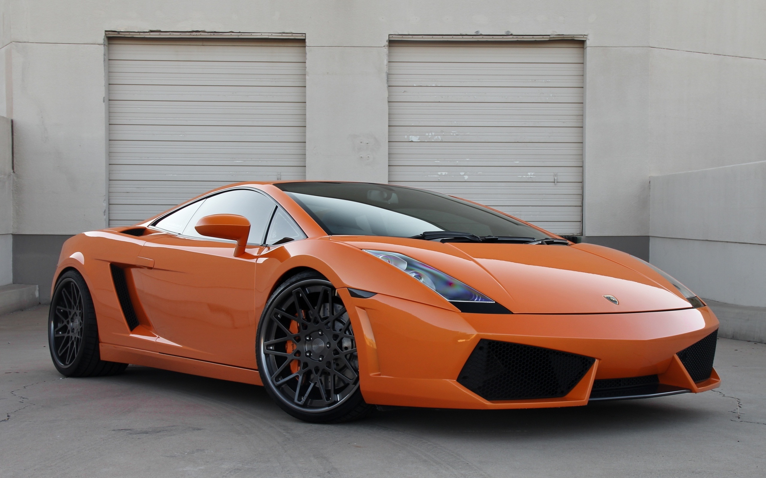 Lamborghini Gallardo Orange