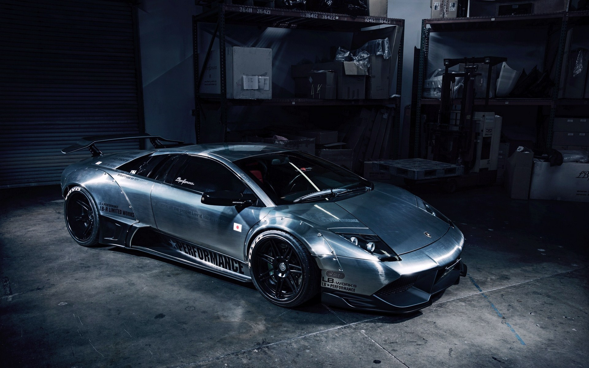 Lamborghini Murcielago by LB Performance Garage