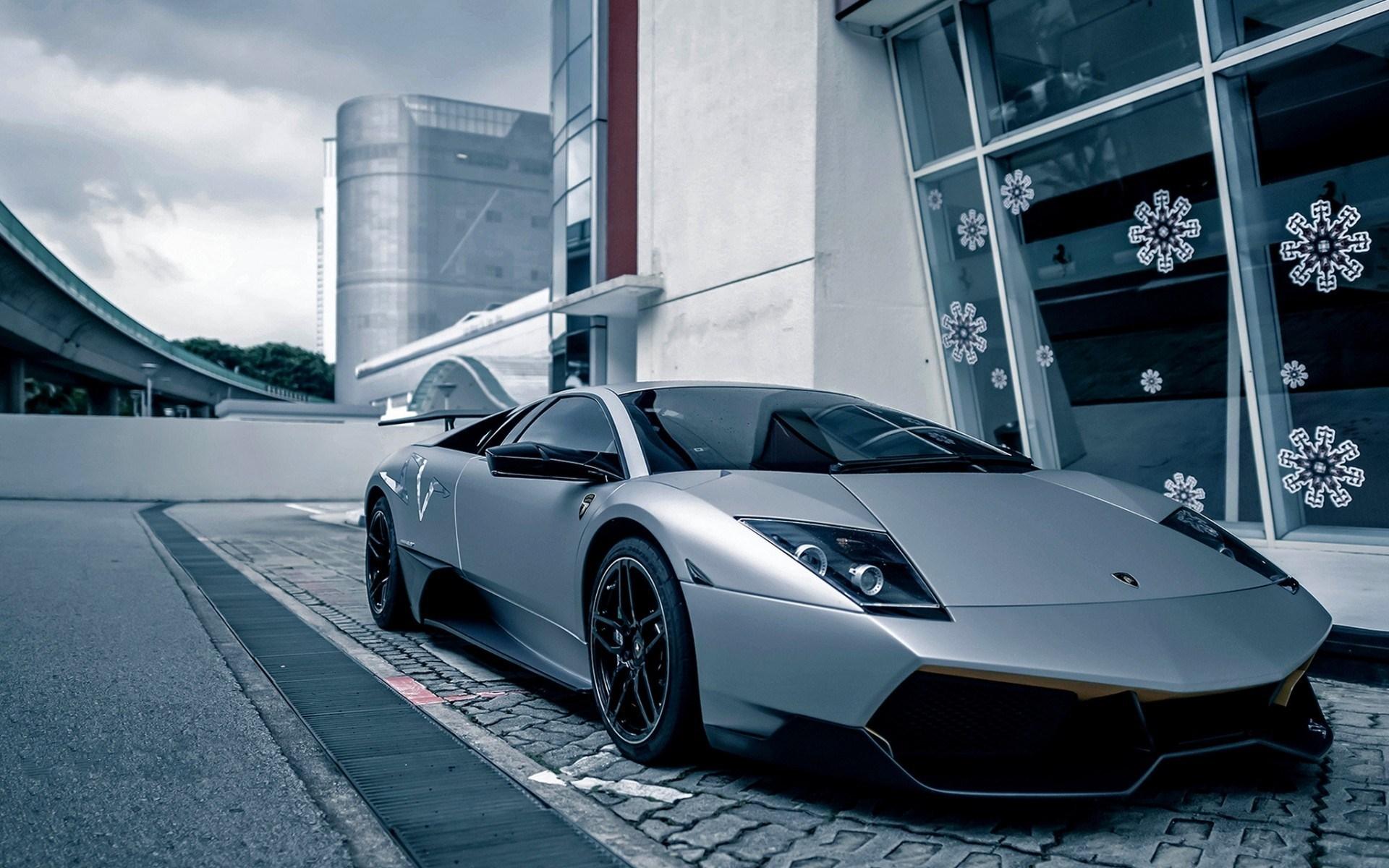 Lamborghini Murcielago LP SV Red HD Desktop Wallpaper for