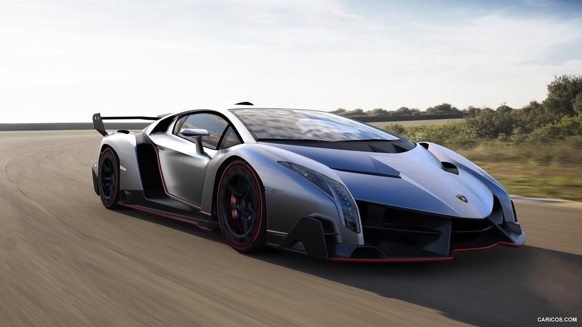 2013 Lamborghini Veneno - Front Wallpaper